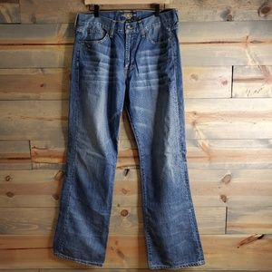 Lucky Brand jeans 455 relaxed boot - men's jeans